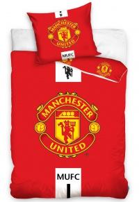 Povlečení Manchester United Erb 70x80,140x200 cm