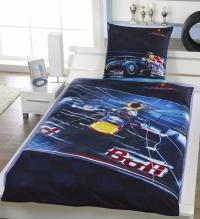Povlečení Red Bull Racing 70x80,140x200 cm formule