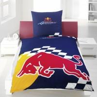 Povlečení Red Bull Racing - Bull 70x80,140x200 cm Bull
