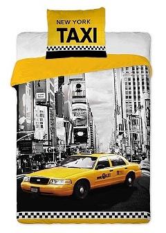 Povlečení bavlna - New York taxi 140x200,70x90 cm