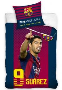 Povlečení FC Barcelona Suárez 70x80,140x200 cm