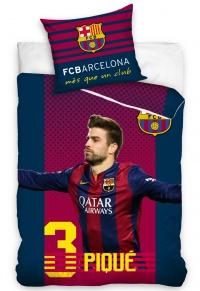 Povlečení FC Barcelona Piqué 70x80,140x200 cm