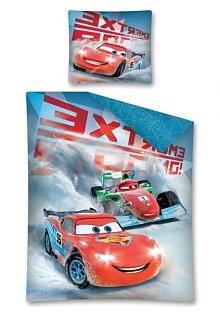 Povlečení Cars winter 140x200,70x80 cm