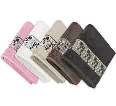 Froté ručníky a osušky kameny 50x100 cm, 70x140 cm