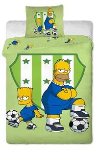 Povlečení Simpsons - Bárt a Homer 140x200,70x90 cm