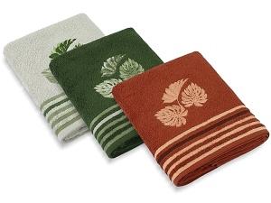 Froté ručníky a osušky Monstera 50x100 cm, 70x140 cm