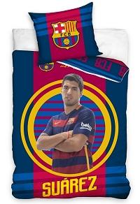 Povlečení FC Barcelona Suárez 2016 70x80,140x200 cm