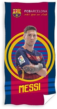 Osuška FC Barcelona Messi 70x140 cm