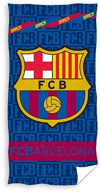 Osuška FC Barcelona Letters 70x140 cm