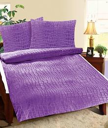 Povlečení Mikro 140x200,70x90 cm tmavě fialová