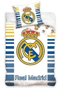 Povlečení Real Madrid Stripes 70x80,140x200 cm