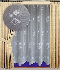 Záclona Jana výška 210 cm bílá