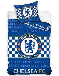 Povlečení Chelsea FC Check 70x80,140x200 cm