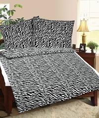 Povlečení mikroflanel 140x200,70x90 cm zebra