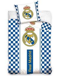 Povlečení Real Madrid Check 70x90,140x200 cm