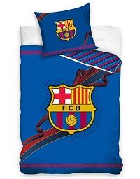 Povlečení FC Barcelona Ribbon 70x80,140x200 cm