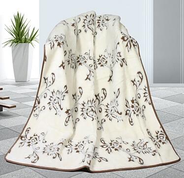 Kašmír vlněná deka 155x200 cm Indie