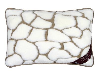 Kašmír vlněný polštář 40x60 cm kameny