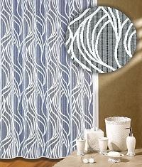 Záclona Wella výška 210 cm bílá