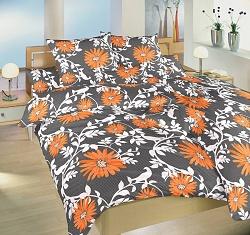 Náhradní polštář k povlečení bavlna 70x90 cm Lola oranžová