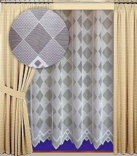 Záclona Koso výška 210 cm bílá