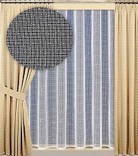 Záclona Lucie výška 160 cm bílá