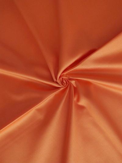 Povlečení bavlněný satén 140x200 a 70x90 cm oranžová
