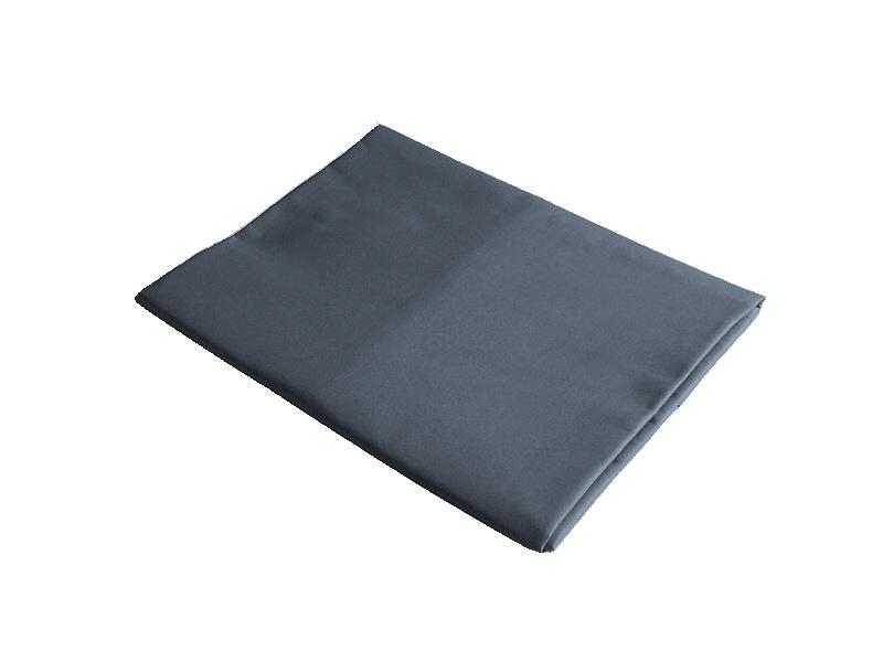 Plátěné prostěradlo dvojlůžko 220x240 cm tmavě šedá