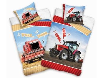 Povlečení Kombajn a Traktor 140x200,70x90 cm
