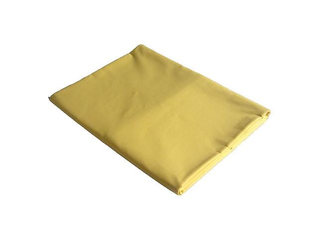 Plátěné prostěradlo dvojlůžko 220x240 cm žlutá