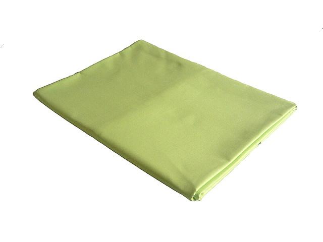 Plátěné prostěradlo dvojlůžko 220x240 cm zelená