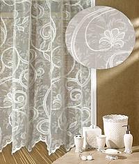 Záclona Malba výška 160 cm bílá