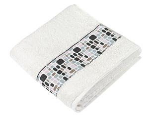 Froté ručník kameny 50x100 cm krémová