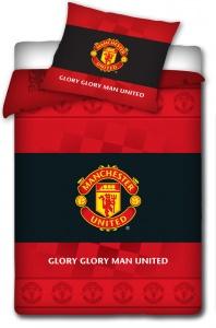 Povlečení Manchester United s erbem 70x80,140x200 cm