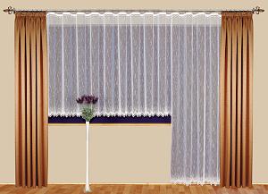 Kusová záclona ANIFE I Výška: 140 cm x Šířka: 300 cm bílá